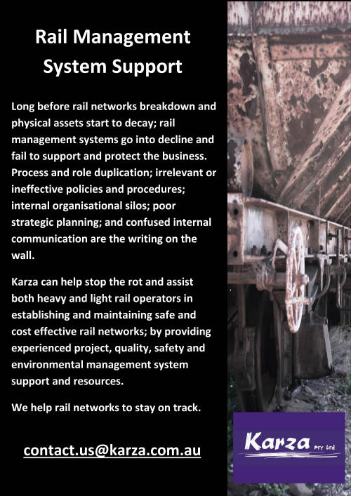 Rail Management Systems