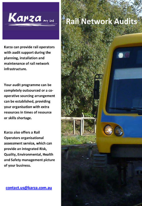 Karza rail network audits