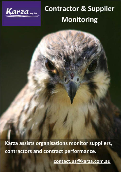 Karza Contractor Supplier Monitoring